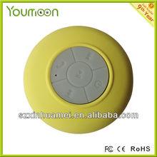 bluetooth Waterproof shower speaker ,enable adsorb on wall