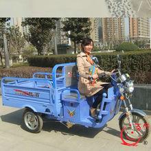 2014 New Baidai cheap electric three wheel truck with LED rear lamp