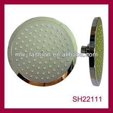 8 inch water saving plastic abs big rain spa head shower head price