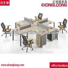 Modern open office partition/center office desk partition melamine office workstation