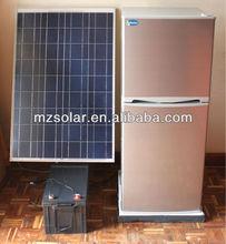 2012 Newest design DC 12V 185L solar refridgerator system freezer system with CE,CB