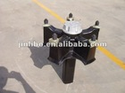 6 ton spoke half axle for trailer/semi-trailer/truck