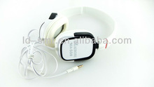 Fashionable commodity!cool square-set ear shaped dj music wired headphone