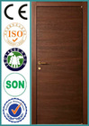 Interior HDF PVC door modern wood doors designs RJ-215