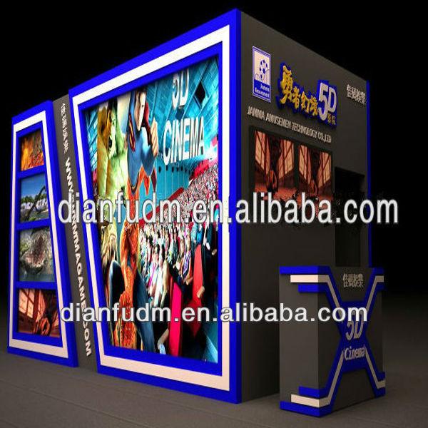 new attractive cheap 5D cinema