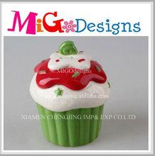 Manufacture OEM Cute Art Decor Ceramic Salt And Pepper Shaker Gift