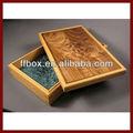 venta al por mayor de madera caja de regalo para la venta
