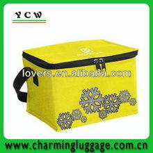 6 bottle wine cooler bag/insulated bottle cooler bag
