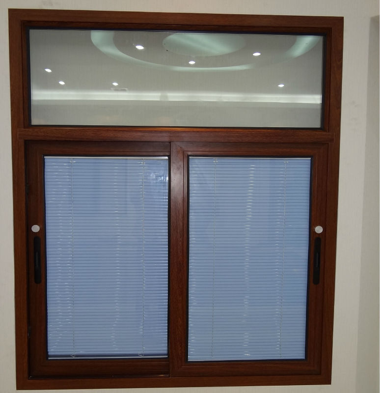 Functional windows with built in blinds view windows with for Windows with built in shades