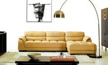 Modern minimalist doll cotton sofa head layer cowhide comfortable sitting sense