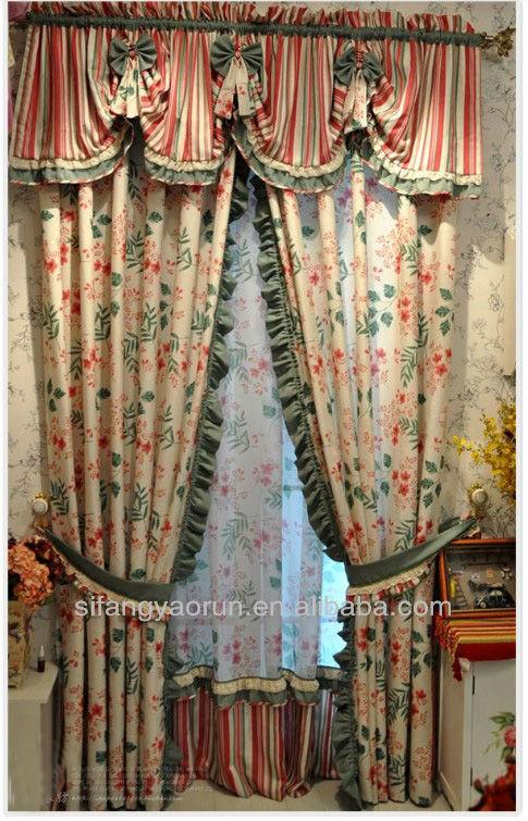 Fashionable curtains 2013 drapery jacquard fabric curtain