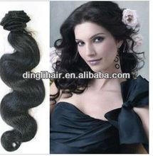 hot sell 100% unprocessed virgin human hair weft bady wave virgin brazilian hair free shipping