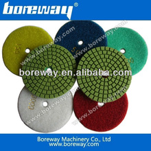 China supplier provide high quality marble and granite polishing pads