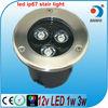 high power 3w ip67 in ground led lights 12v