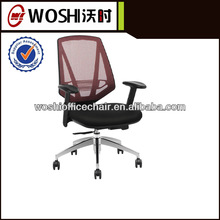 2013 lastest design with alloy legs office high mesh chair