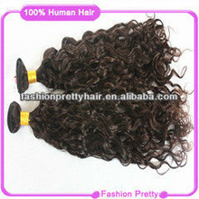 unprocessed #2 curly virgin Brazilian hair extension alibaba china