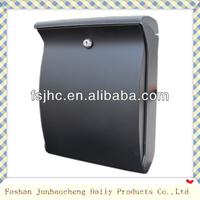 Foshan JHC-2001 Lockable ABS Plastic Storage Mailbox /Colorful Plastic Letter Box/Mail box