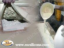 Liquid RTV 2 silicone rubber for gypsum mold