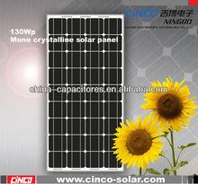 130W mono crystalline solar panel, PV solar module