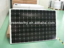 250 Watts Mono solar panel high effiency of solar module