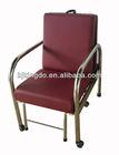 Foldable Chaperone Hospital Clinic Chair / Sofa PU With High Density Sponge