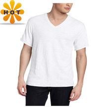 2014 fashionable mens v-neck t-shirt