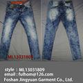 jeans com pedras 2013 azul moda skinny jeans homens