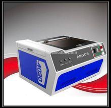 RF metal laser mini laser engraving machine acrylic/wood/plastic/rubber/stamp/plexiglax/plywood desktop laser engraver 400x300mm