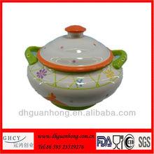 Ceramic Easter Soup Pot Set