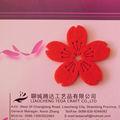 feltro flor de parede decoração
