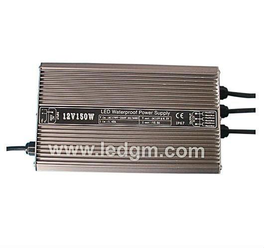 24V 12V 150W Waterproof LED power supply