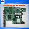 Para hp pavilion dv6000 portátil la placa base,/p n: 459564-001