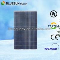High quality bluesun q cell poly 230watt cigs solar panel