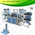 Tabela cobrir saco de lixo plástico que faz a máquina fqcd800( rolo largura de 600 milímetros) saco de lixo em rolos da máquina