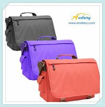 Polyester multi-function shoulder laptop bag