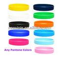 Bracelets de silicone personnalisée en caoutchouc