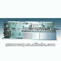 Five 5 Layer laminated tube makin machine,like Cosmetic tube making machine