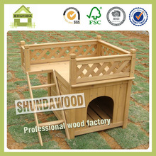SDD01 wooden dog cage for sale cheap