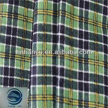 Good Sales Plaid Pongee Fabric
