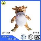 Cute stuffed soft toy plush giraffe wholesale