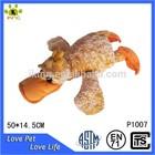 Custom Lovely big stuffed plush yellow duck toy