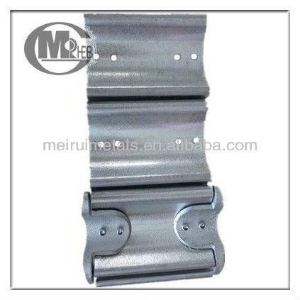 Persiana de la puerta de acero piezas de listones de