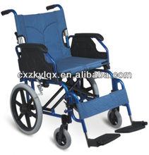 aluminum folding lightweight wheel chair for disable