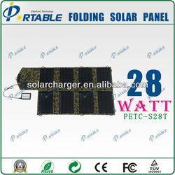 Dual Output Foldable Sola Panel PETC-S28T