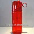 Névoa fria& potável'n sip 16.5 oz garrafa de água de imagem em qualquer cor