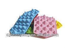 Diamond shape silicone cake mold, diamond silicone ice tray, silicone chocolate mold