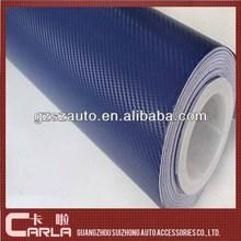 1.27x30m car sticker wrapping vinyl roll 3D carbon fibre vinyl wrap for car