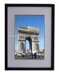 plexiglass a4 a3 matted black plastic picture frame
