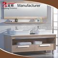 1400mm luxo madeira maciça de armário de banheiro, móveis de casa de banho