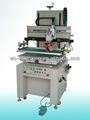 Motor impulsado por semi auto plana pantalla de seda de la máquina de impresión